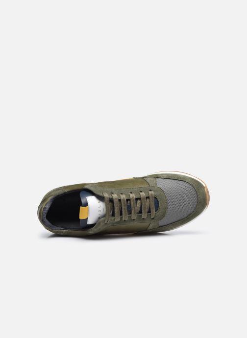 Sneaker Piola CALLAO grün ansicht von links