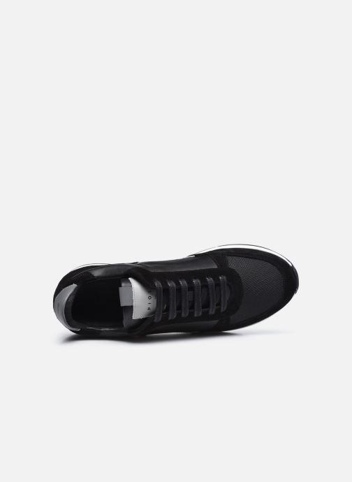 Sneaker Piola CALLAO schwarz ansicht von links