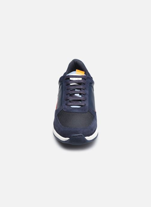 Baskets Piola CALLAO Bleu vue portées chaussures