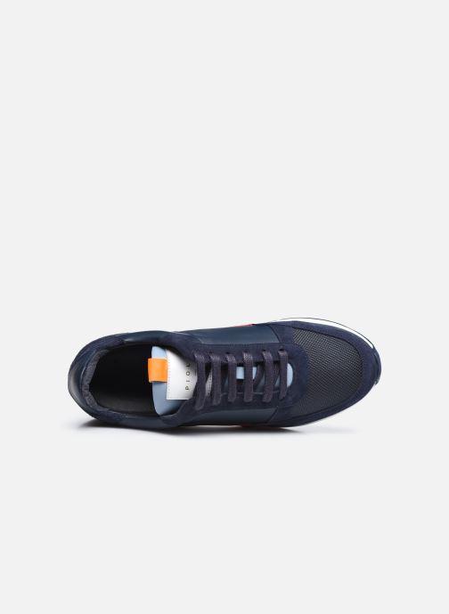 Sneaker Piola CALLAO blau ansicht von links