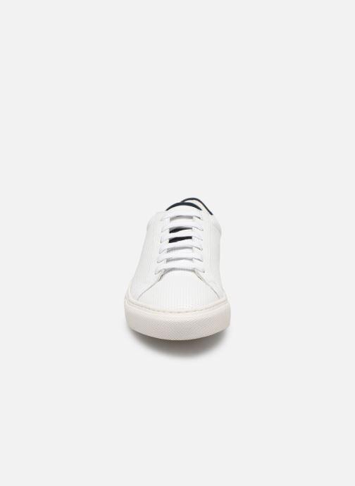 Baskets Piola ICA Blanc vue portées chaussures