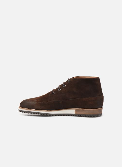 Trainers Piola MANCORA Brown front view