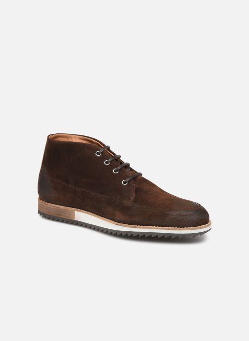 Sneakers Piola MANCORA Brun detaljeret billede af skoene