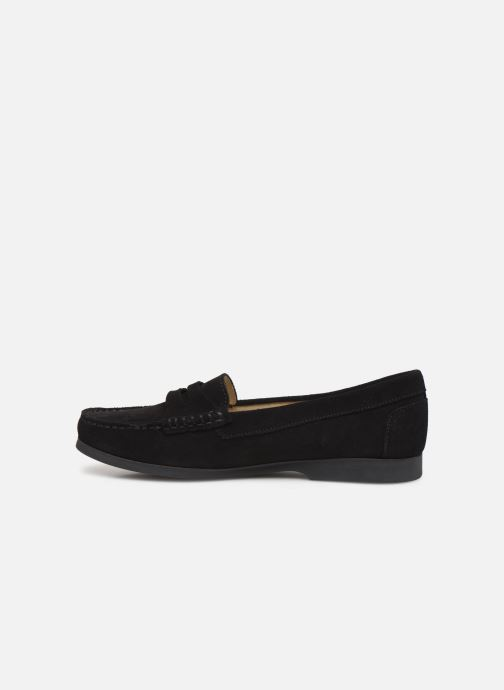 Loafers Hirica Queen C Black front view