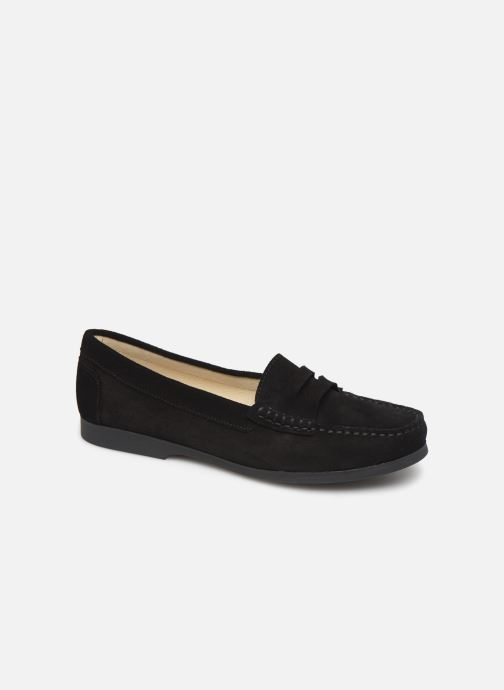 Loafers Hirica Queen C Black detailed view/ Pair view