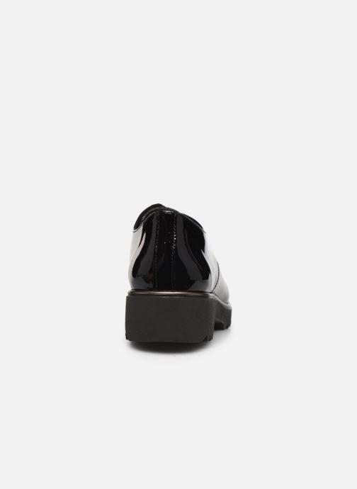 Chaussures à lacets Hirica Oceane C Noir vue droite