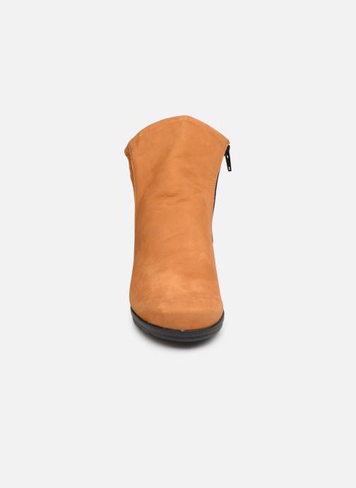 Bottines et boots Hirica Dayton C Jaune vue portées chaussures