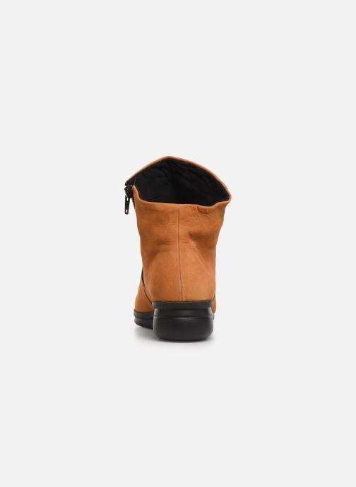 Bottines et boots Hirica Dayton C Jaune vue droite