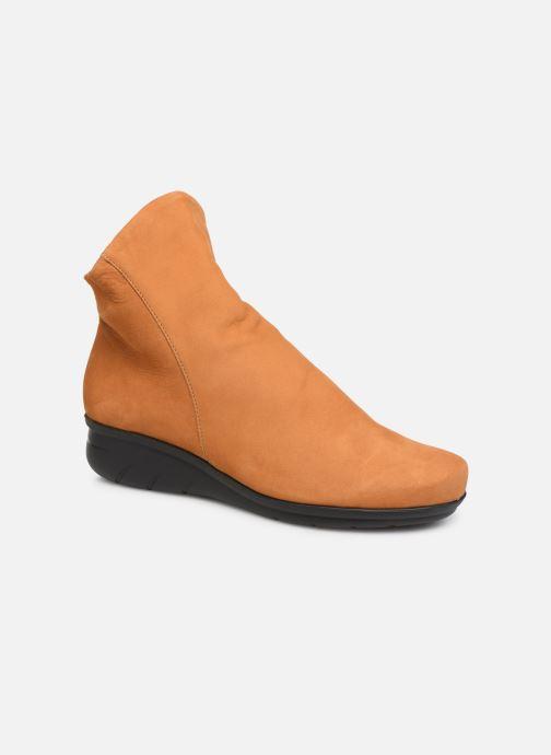 Bottines et boots Hirica Dayton C Jaune vue détail/paire