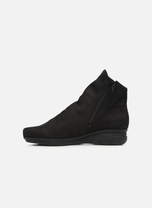 Boots en enkellaarsjes Hirica Dayton C Zwart voorkant