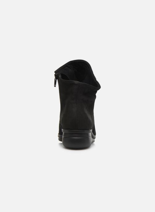 Boots en enkellaarsjes Hirica Dayton C Zwart rechts