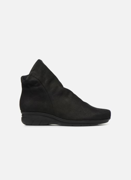Boots en enkellaarsjes Hirica Dayton C Zwart achterkant
