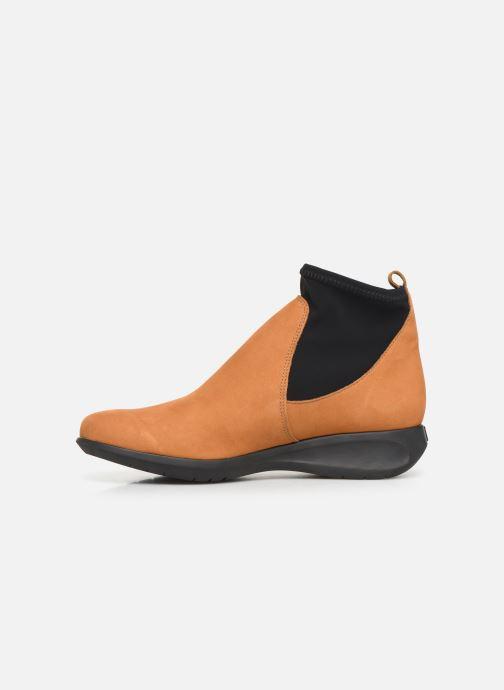 Bottines et boots Hirica Sacha C Jaune vue face