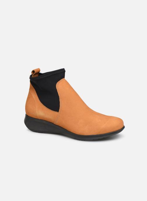 Bottines et boots Hirica Sacha C Jaune vue détail/paire