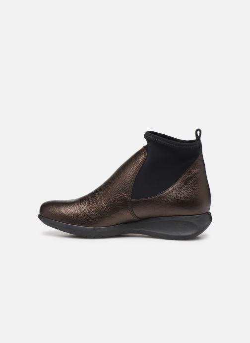 Bottines et boots Hirica Sacha C Marron vue face