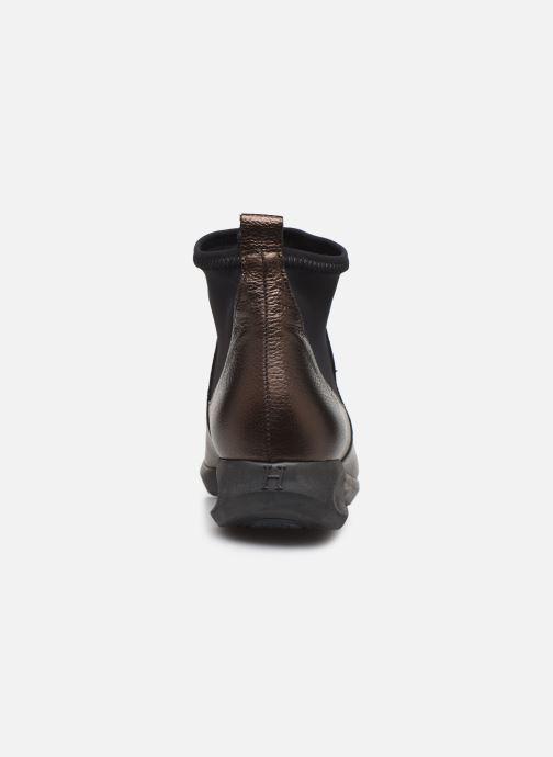 Bottines et boots Hirica Sacha C Marron vue droite