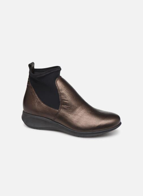 Boots en enkellaarsjes Hirica Sacha C Bruin detail