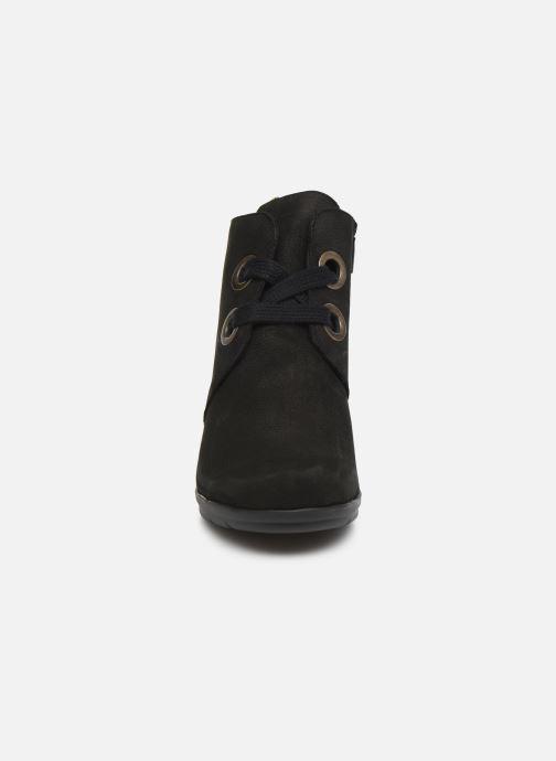 Stiefeletten & Boots Hirica Derby C schwarz schuhe getragen