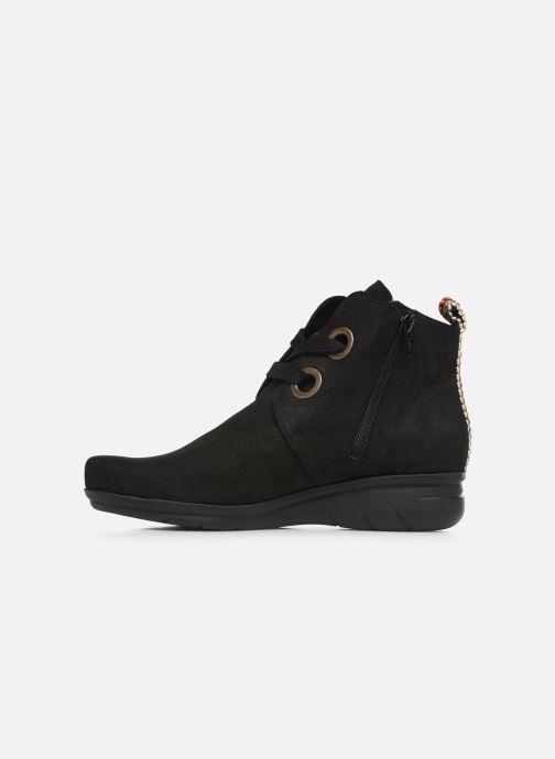 Boots en enkellaarsjes Hirica Derby C Zwart voorkant
