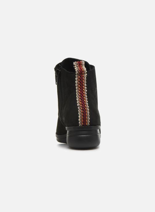 Boots en enkellaarsjes Hirica Derby C Zwart rechts