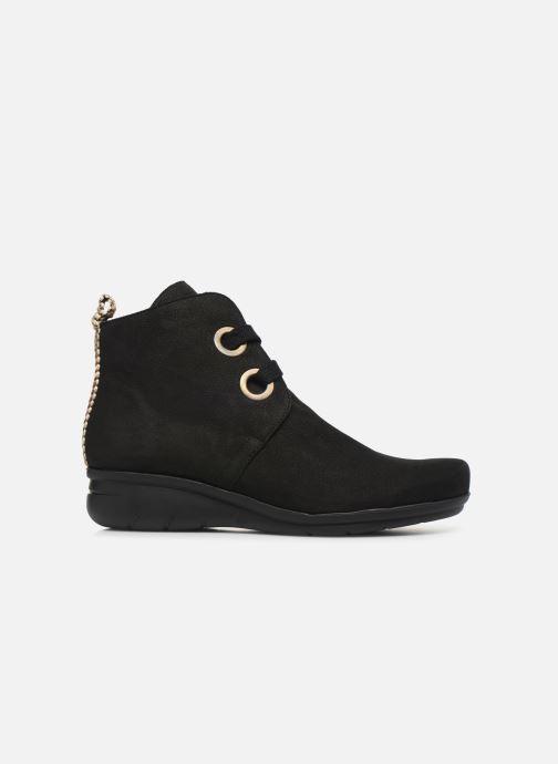 Boots en enkellaarsjes Hirica Derby C Zwart achterkant