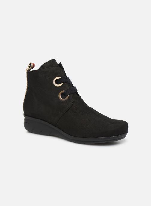 Boots en enkellaarsjes Hirica Derby C Zwart detail
