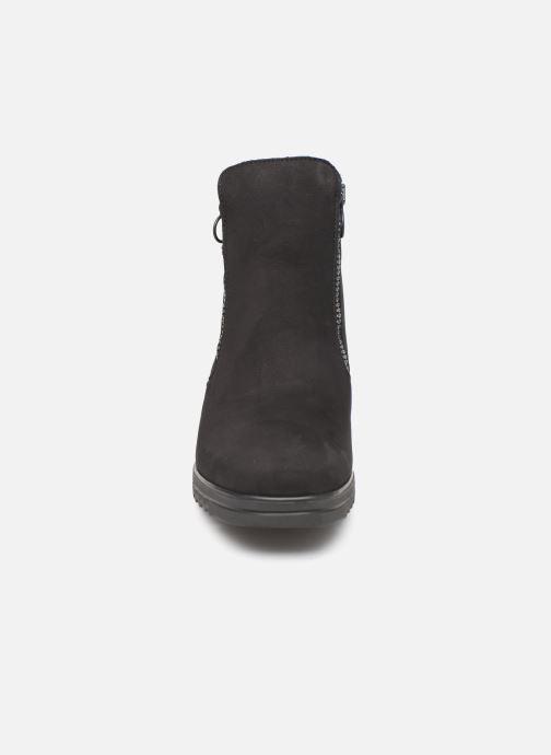 Bottines et boots Hirica Nelly C Noir vue portées chaussures
