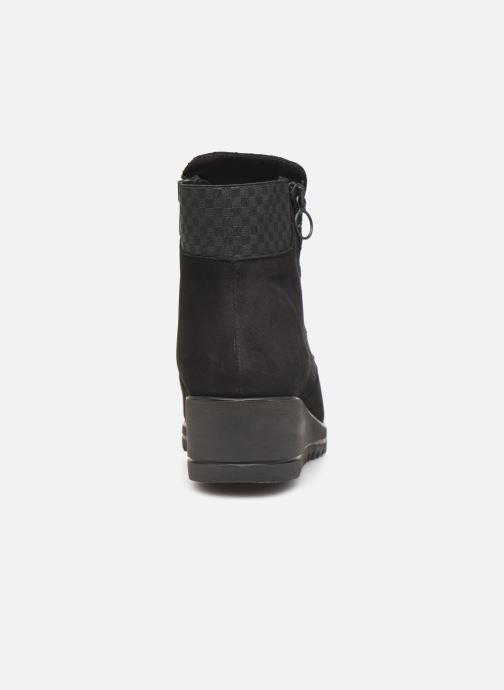 Bottines et boots Hirica Nelly C Noir vue droite