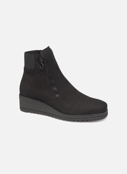 Boots en enkellaarsjes Hirica Nelly C Zwart detail