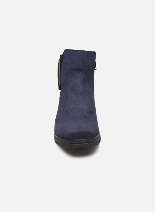 Bottines et boots Hirica Naomie C Bleu vue portées chaussures