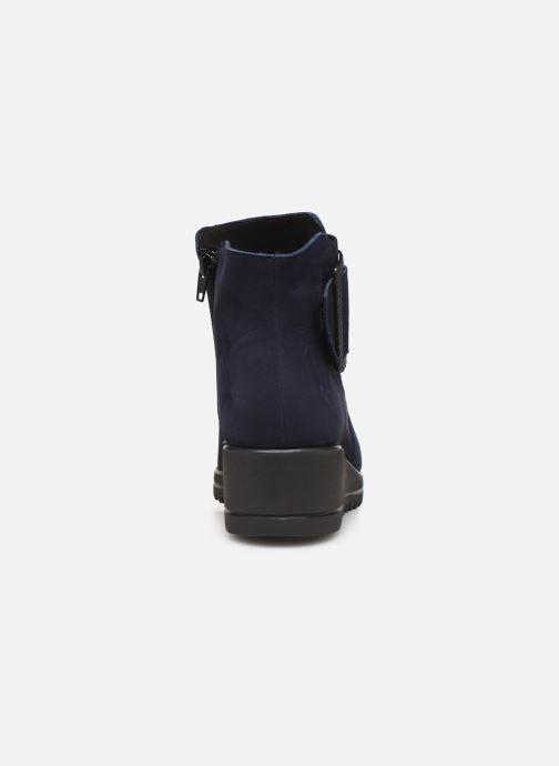 Bottines et boots Hirica Naomie C Bleu vue droite