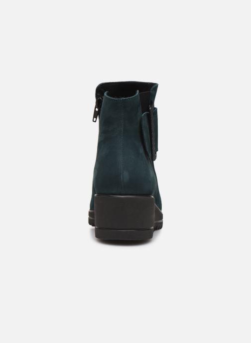 Bottines et boots Hirica Naomie C Vert vue droite