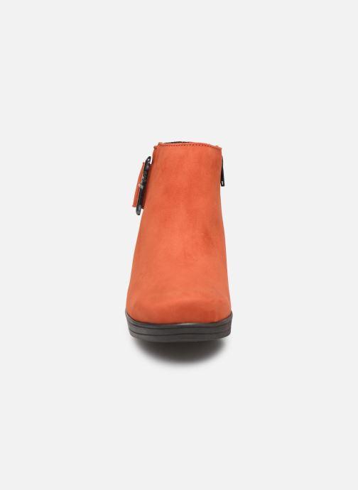 Stiefeletten & Boots Hirica Camelia C orange schuhe getragen