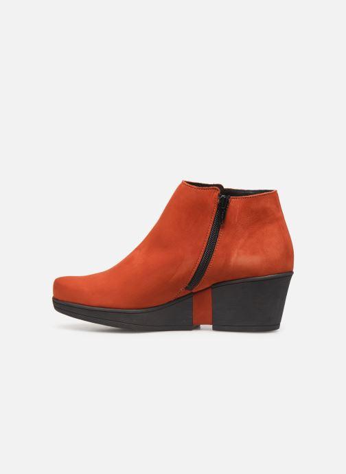 Stiefeletten & Boots Hirica Camelia C orange ansicht von vorne