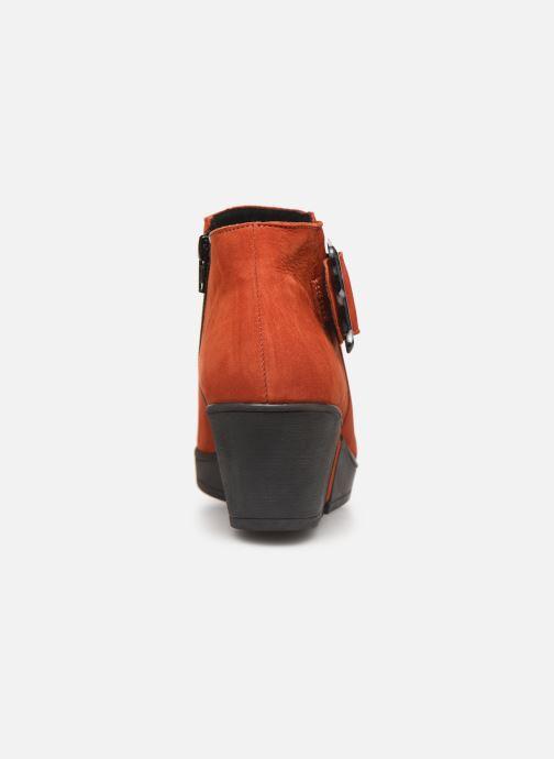 Stiefeletten & Boots Hirica Camelia C orange ansicht von rechts