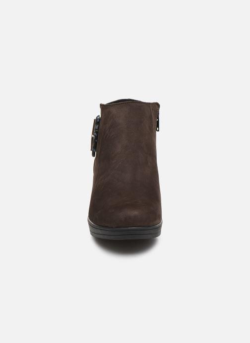 Stiefeletten & Boots Hirica Camelia C braun schuhe getragen