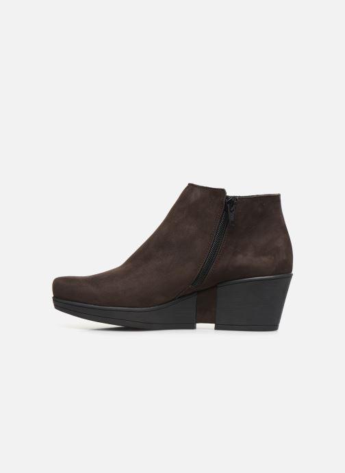 Stiefeletten & Boots Hirica Camelia C braun ansicht von vorne