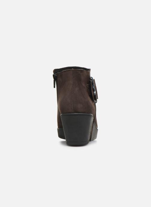 Stiefeletten & Boots Hirica Camelia C braun ansicht von rechts