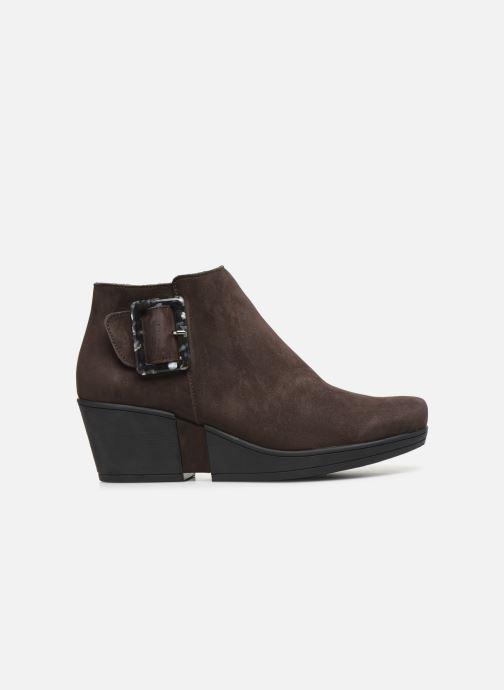 Stiefeletten & Boots Hirica Camelia C braun ansicht von hinten