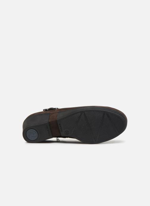 Stiefeletten & Boots Hirica Camelia C braun ansicht von oben