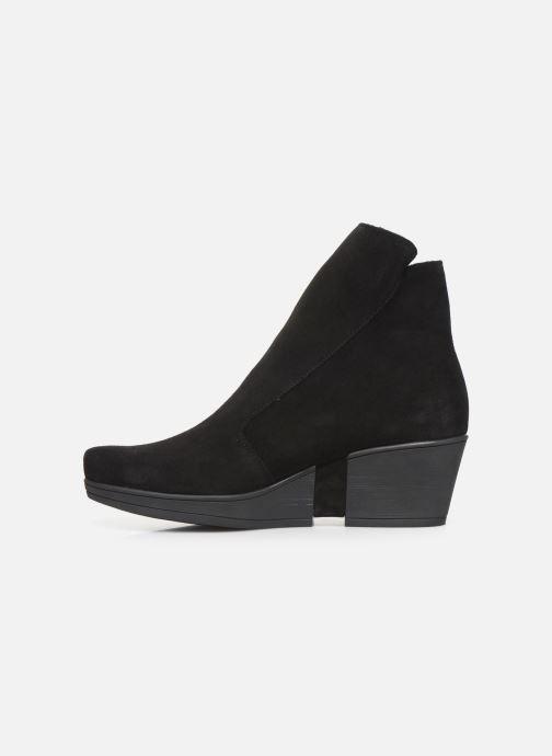 Bottines et boots Hirica Christina C Noir vue face