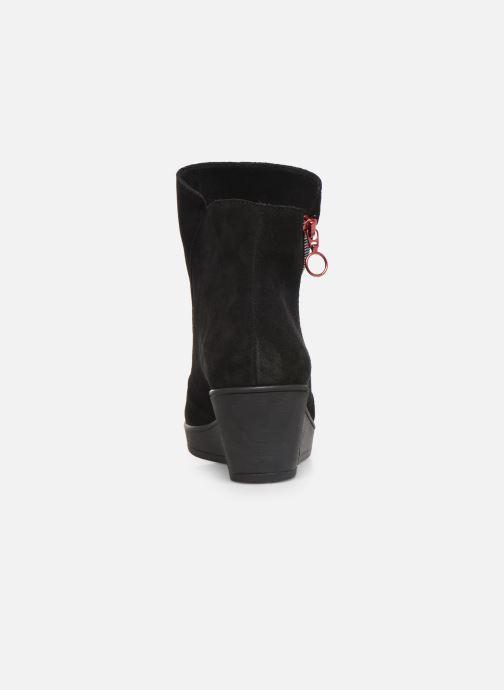 Bottines et boots Hirica Christina C Noir vue droite