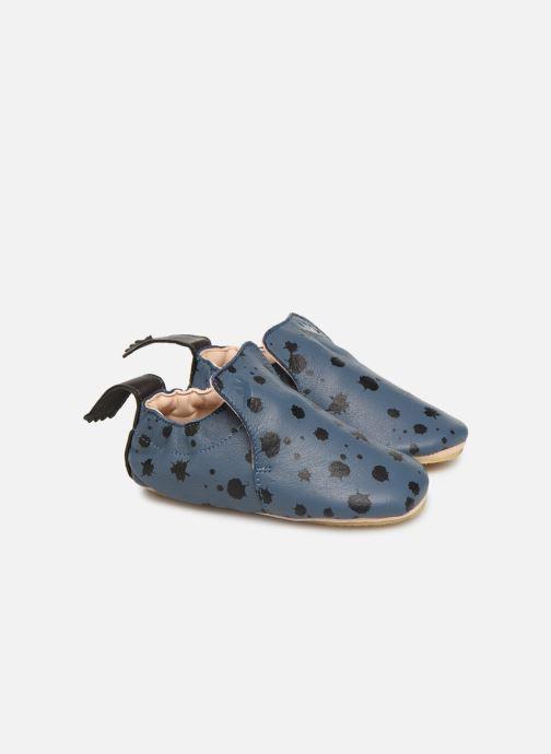 Pantuflas Easy Peasy Blublu Ink Azul vista de detalle / par
