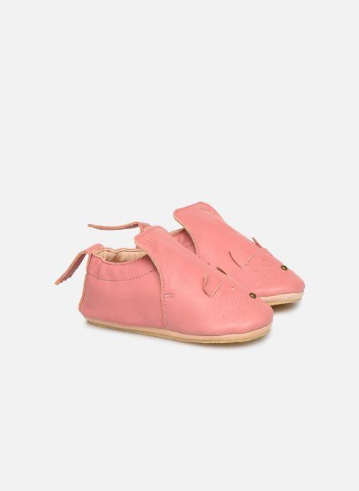 Hjemmesko Easy Peasy Blublu Chat Pink detaljeret billede af skoene