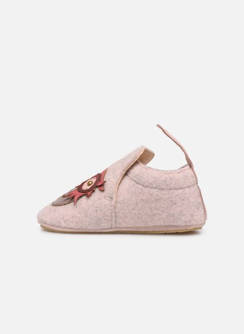 Chaussons Easy Peasy Doublu Hiboo Rose vue face