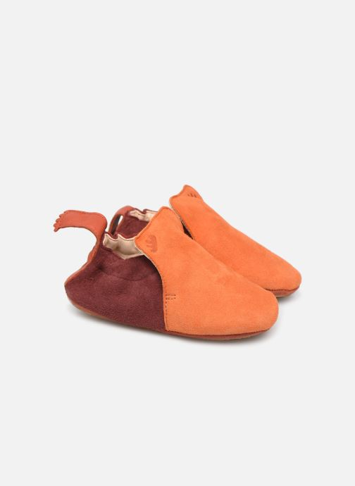 Hjemmesko Easy Peasy Blublu Multi Orange detaljeret billede af skoene