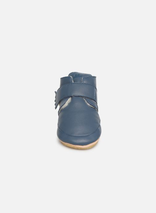Chaussons Easy Peasy Winterblu Bleu vue portées chaussures