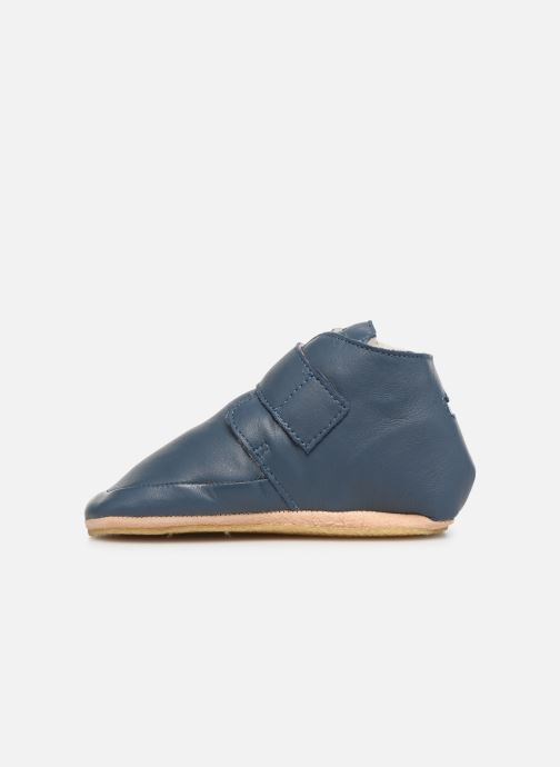 Chaussons Easy Peasy Winterblu Bleu vue face