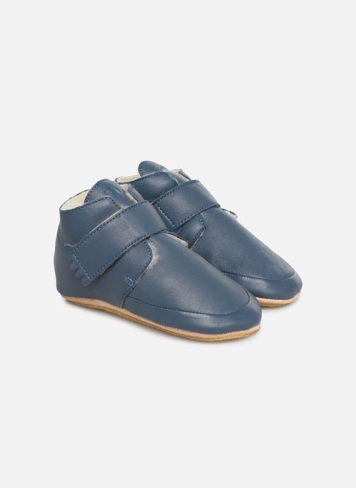 Chaussons Easy Peasy Winterblu Bleu vue détail/paire
