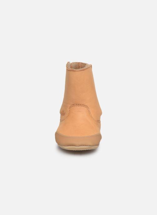 Bottes Easy Peasy Icho Marron vue portées chaussures